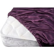 Barska Aus Vio 100% Silk Fitted Sheet Cal King Iris  (BM12116)