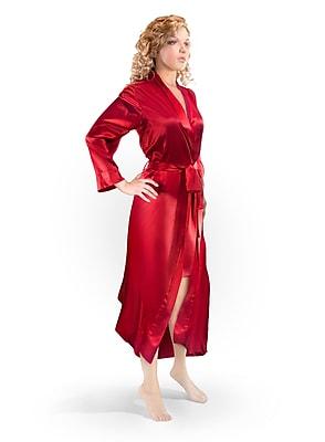 Barska Aus Vio 100% Silk Robe M/L, Red (BM12128)