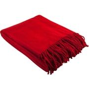 Barska Aus Vio 100% Silk Fleece Throw Blanket, Red (BM12222)