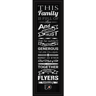 Sports Art Framed Quality Cheer Print, Philadelphia Flyers