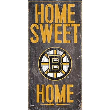 Sports Art Hanging Home Decor Plaque, Boston Bruins