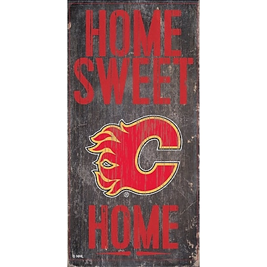 Sports Art Hanging Home Decor Plaque, Calgary Flames