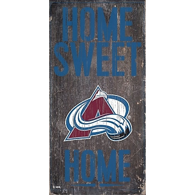 Sports Art Hanging Home Decor Plaque, Colorado Avalanche
