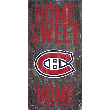Sports Art Hanging Home Decor Plaque, Montreal Canadiens