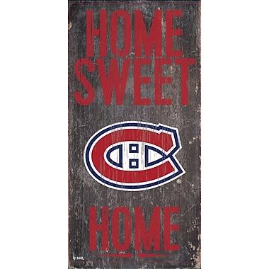 Art mural, plaque suspendue, Canadiens de Montréal