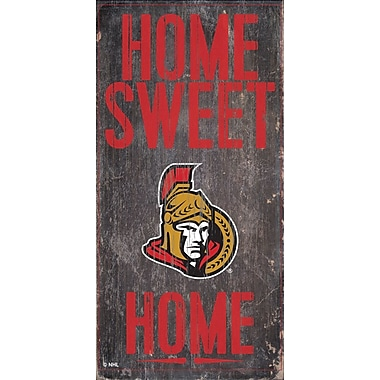 Sports Art Hanging Home Decor Plaque, Ottawa Senators