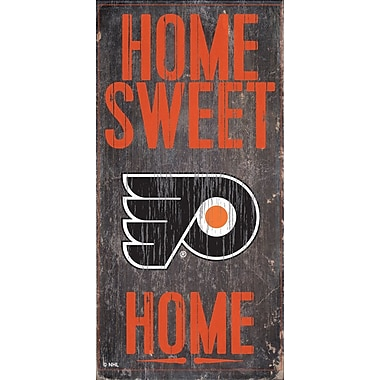 Sports Art Hanging Home Decor Plaque, Philadelphia Flyers