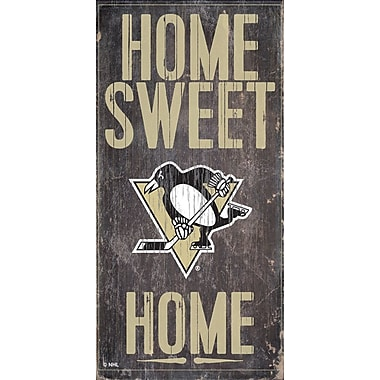 Art mural, plaque suspendue, Penguins de Pittsburgh