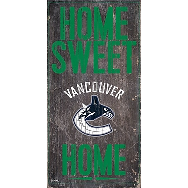 Sports Art Hanging Home Decor Plaque, Vancouver Canucks