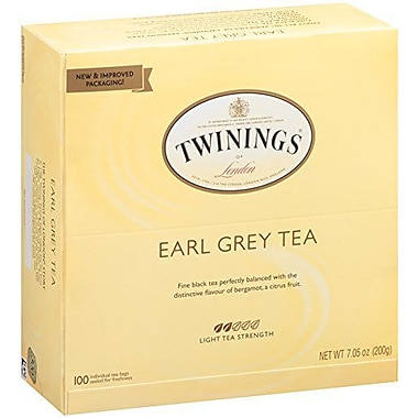 Twinings – Thé Earl Grey, paq./100