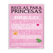 Stupell Industries 'Spanish Princess Rules' Textual Art Wall Plaque