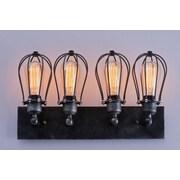 LightingWorld 4-Light Cage Wall Sconce
