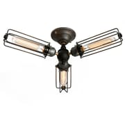LightingWorld 3-Light Semi Flush Mount