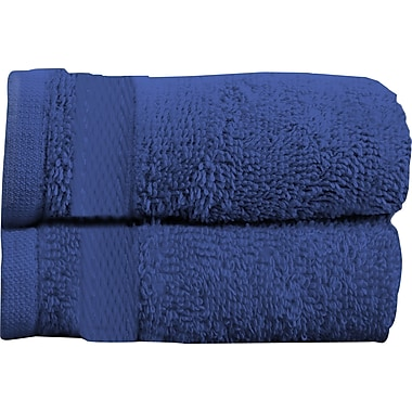 Maison Condelle Sandra Venditti Bath Towel 2 piece Towel Set (Set of 2); Navy