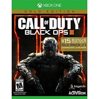 Activision Blizzard – Call of Duty: Black Ops 3, édition Gold, avec DLC, français, Xbox One
