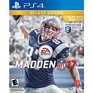 EA Madden NFL 17, Deluxe Edition, PS4