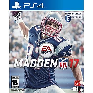 EA Madden NFL 17, PS4