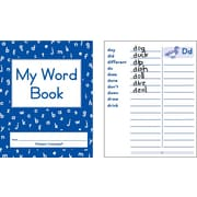 Primary Concepts My Word Book, Grades K-3, 20/Pack (1054)