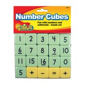 Primary Concepts Number Cubes, 20/Set (4615)