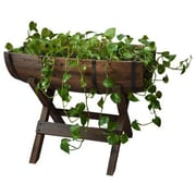 Quickway Imports 1.5 ft x 1 ft Wood Raised Garden
