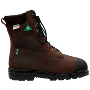 "Viking Tatra 8"" Internal Flexguard™ Safety Boots, Steel Toe and Lenzi Plate, Puncture Resistant Insole, Bumper Toe, Brown"