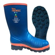 Viking Firewall Rigger Boot, Slip-On, Lug Sole, Steel Toe & Plate