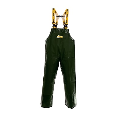 Viking Reversible Oxford Nylon/PVC-Reinforced Bib Pants, Green, Small (7110P-S)