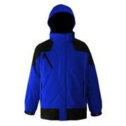 Viking Waterproof/Breathable Mesh Lined Jacket with Stormblaster® Hood, Red/Black