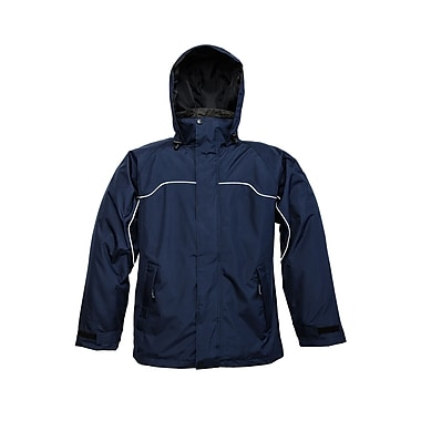 Viking – Veste de plein air 3 en 1 à capuchon Torrent, marine, 4X-Grand (829N-XXXXL)