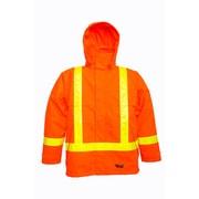 Viking Jacket with Reflective Safety Stripes, Fluorescent Orange