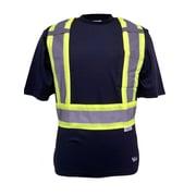 Viking UPF 50+ Rating T-Shirt, Velcro Sealed Chest Pocket, Radio Clip Strap, Navy