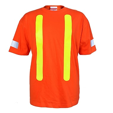 Viking Cotton T-Shirt, High Visibility Orange, Medium (6002O-M)