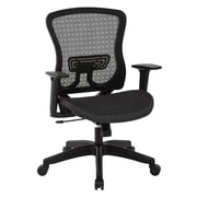 Office Star Space Seating CHX Breathable Mesh Manager's Chair, Black