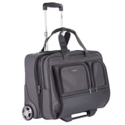 Bugatti Business Case on Wheels, Black (BZCW301)