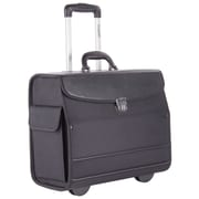 Bugatti Business Case on Wheels, Black (BZCW303)