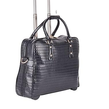 Bugatti - Mallette commerciale sur roulettes, pour dames, noir (LBZW1702)