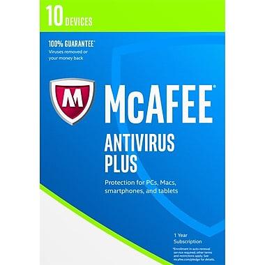 McAfee – Antivirus 2017, pour 10 appareils, anglais États-Unis/français Canada, [Téléchargement]