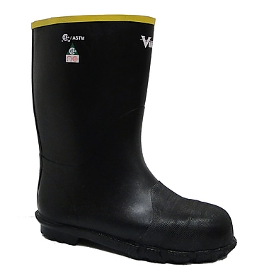 Viking Handyman Lightweight Winter Rubber Boot, Steel Toe & Plate, Size 12 (VW3-1-3-12)