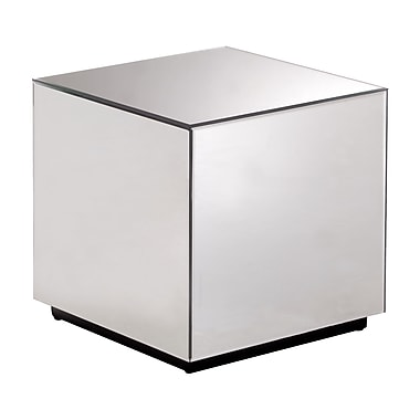 Zuo Modern – Table d'appoint miroir Cubo (WC850101)