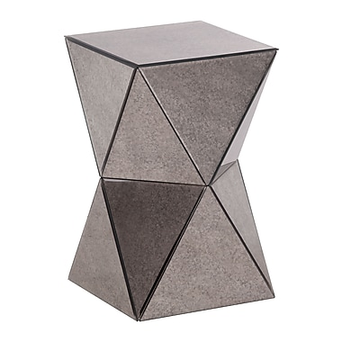 Zuo Modern – Table d'appoint miroir Prism (WC850100)