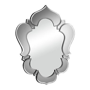 Zuo Modern – Miroir Vishnu, contour gris (WC850010)