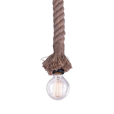 Zuo Modern Dunedin Ceiling Lamp Natural (WC98415)