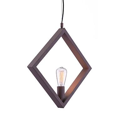 Zuo Modern – Lampe de plafond Rotorura, rouille (WC98417)
