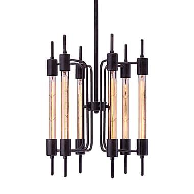 Zuo Modern Gisborne Ceiling Lamp Distressed Black (WC98419)