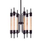 Zuo Modern – Lampe de plafond Gisborne, noir vieilli (WC98419)