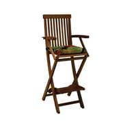 Blazing Needles Outdoor Barstool Cushion (Set of 2); Eastbay