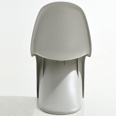 Edgemod S Side Chair; Light Grey