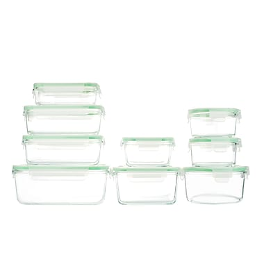 Kinetic Glassworks 9 Container Food Storage Set