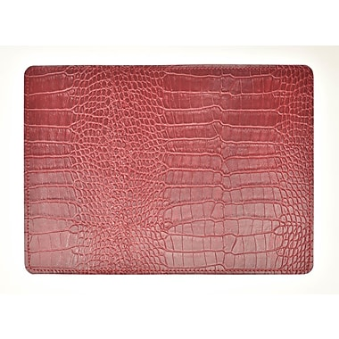 EcoDomo Andeline Fire Crocodile Leather Placemat