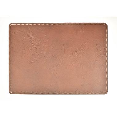 EcoDomo Andeline Chestnut Buffalo Leather Placemat (Set of 4)